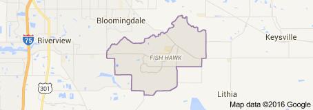 Fish Hawk Map